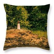 Mini Lighthouse Throw Pillow