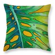 Mini Tropicals 2 Throw Pillow