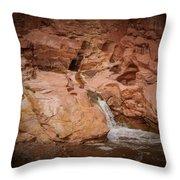 Miniature Waterfall Throw Pillow