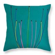 Minimal Colours 12 Throw Pillow