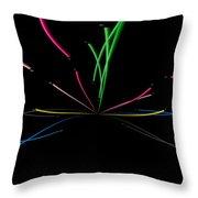 Minimal Colours 2 Throw Pillow