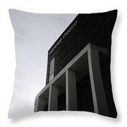 Minimalist Canterbury Throw Pillow