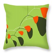 Minimalist Modern Mobile Throw Pillow