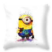 Minion 4 Throw Pillow