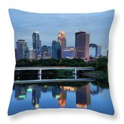 Minneapolis Reflections Throw Pillow