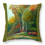 Minnesota Quartet Throw Pillow