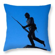 Minnesota Soldier Monument At Gettysburg Throw Pillow