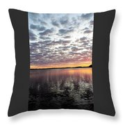Minnesota Sunrise Throw Pillow