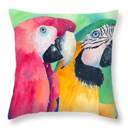 Minnie And Boggs Throw Pillow