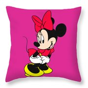 Minnie Throw Pillow