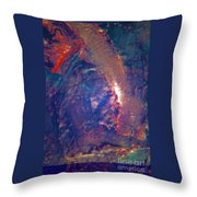 Minoans On Keweenaw Penninsula Throw Pillow