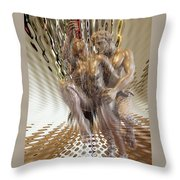 Minotaur Throw Pillow