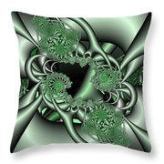 Mint3 Throw Pillow