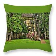 Minthorn Hall Throw Pillow