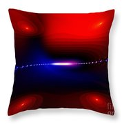 Minus 3 Degrees Throw Pillow by Peter R Nicholls