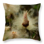 Miracle Flower Throw Pillow