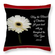 Miracle Of Christmas Throw Pillow