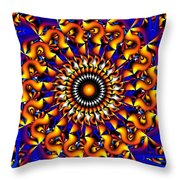 Miracles In Motion Throw Pillow