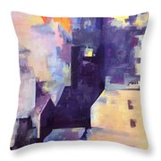 Mirage In The Concrete City Throw Pillow