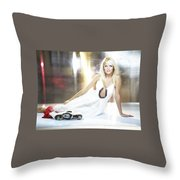 Mirjam Weichselbraun Throw Pillow