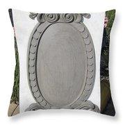 Mirror Base Throw Pillow