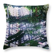 Mirror Image II Throw Pillow