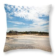 Mirrored Ripples Throw Pillow