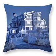Misquamticut Mansion Throw Pillow