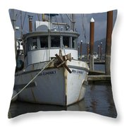 Miss Conduct Throw Pillow