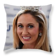 Miss Connecticut 2017 Throw Pillow