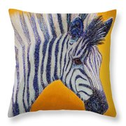 Miss D Throw Pillow