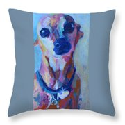 Miss Daisy Throw Pillow