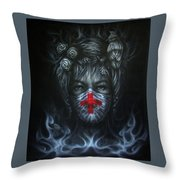 Miss Earth  Throw Pillow