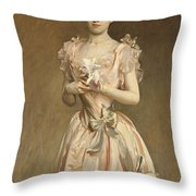 Miss Grace Woodhouse Throw Pillow