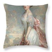 Miss Mathilde Townsend Throw Pillow