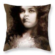 Miss Maude Fealy Throw Pillow
