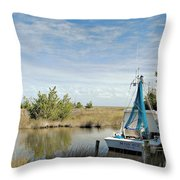 Miss Sue Two Throw Pillow