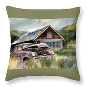 Miss Wilson's House Throw Pillow