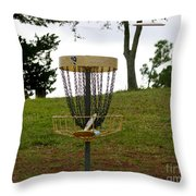 Missing Chains Throw Pillow