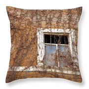 Missing The Leaves Throw Pillow