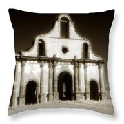 Mission Abandoned Throw Pillow