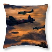Mission Accomplished Homeward Bound Throw Pillow