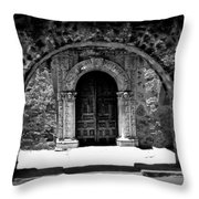 Mission Archway II Throw Pillow