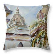 Mission Breath Throw Pillow
