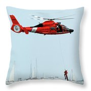 Mission Complete Throw Pillow