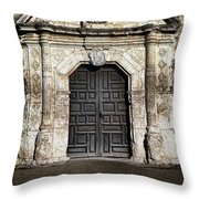 Mission Concepcion Front Throw Pillow