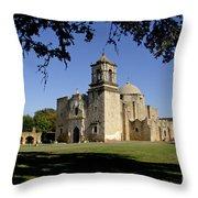 Mission San Jose Y San Miguel De Aguayo. Church. Throw Pillow