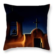 Mission Crosses Throw Pillow