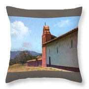 Mission End Wall Throw Pillow