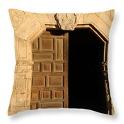 Mission Entry Throw Pillow